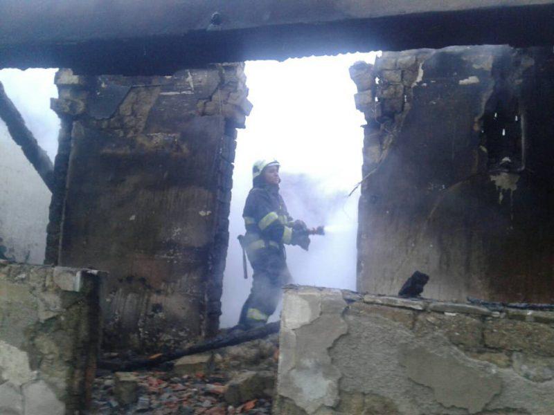 Смертельна пожежа на Закарпатті. Фото