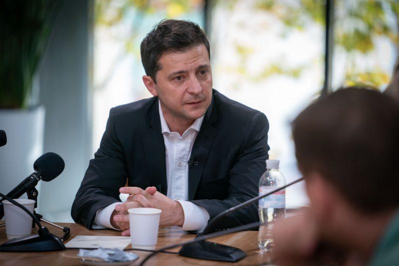 Володимир Зеленський: Моя місія – припинити війну на Донбасі