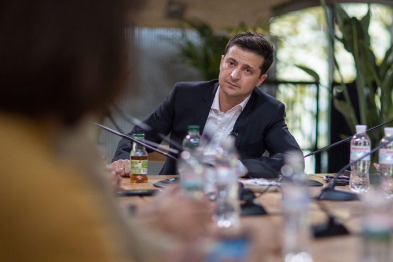 Володимир Зеленський підтримує приватизацію об'єктів Державного управління справами