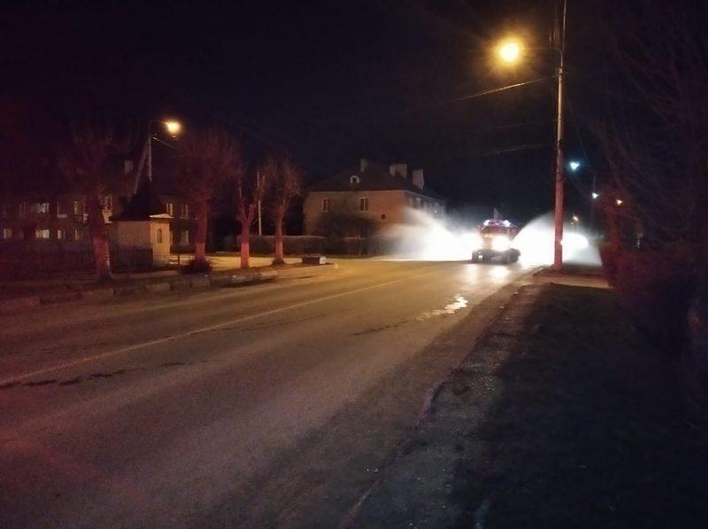 Рятувальники проводять дезінфікуючі заходи у Чернівецькій області