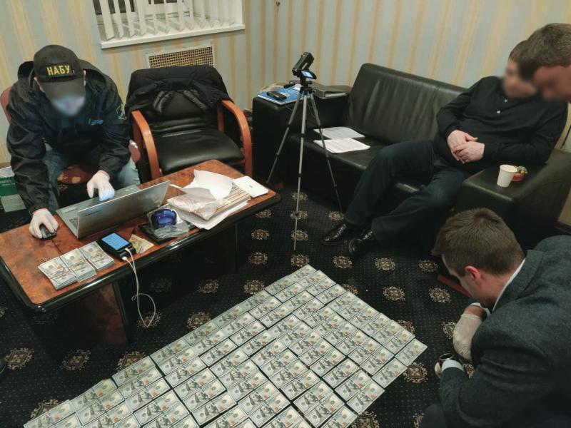 В Києві затримали посадовця Держрезерву. Фото